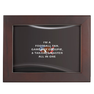 TOP Football All in One Memory Box