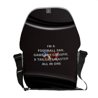 TOP Football All in One Messenger Bag