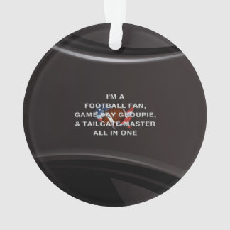 TOP Football All in One Ornament