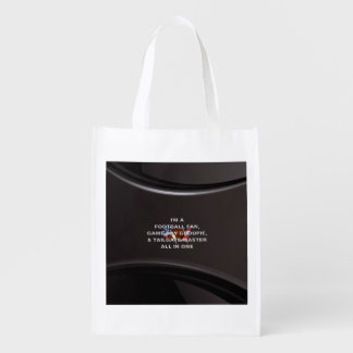 TOP Football All in One Reusable Grocery Bag