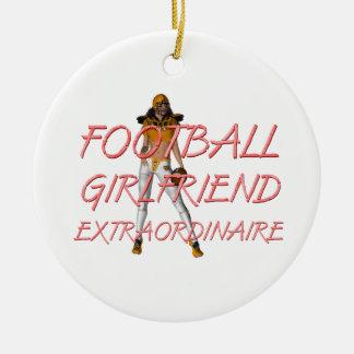TOP Football Girlfriend Christmas Ornaments