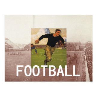 TOP Football Old School Postcard