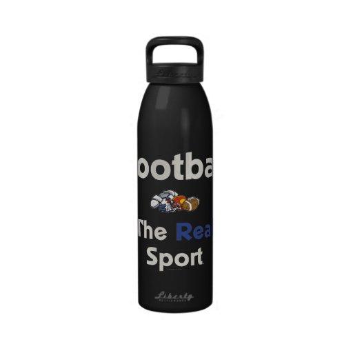TOP Football Real Sport Drinking Bottle