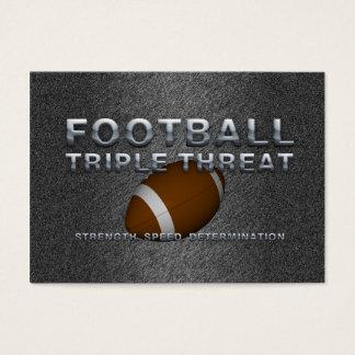TOP Football Triple Threat Business Card