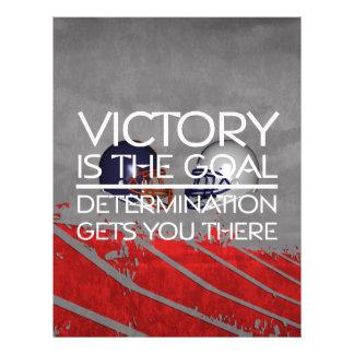 TOP Football Victory Slogan Flyer