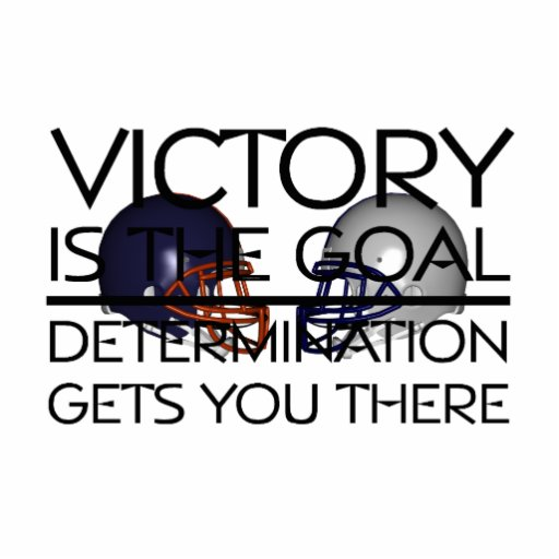 TOP Football Victory Slogan Cut Outs