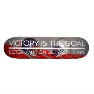 TOP Football Victory Slogan Skateboard Deck