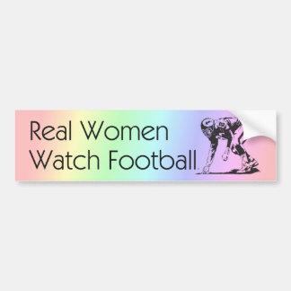 TOP Football Women Car Bumper Sticker