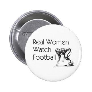 TOP Football Women Pinback Button