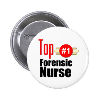Top Forensic Nurse Pinback Buttons