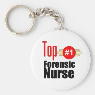 Top Forensic Nurse Key Chain