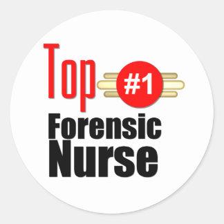 Top Forensic Nurse Sticker