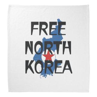 TOP Free North Korea Bandana