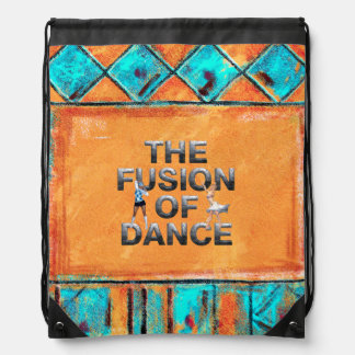 TOP Fusion of Dance Drawstring Bag