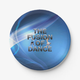 TOP Fusion of Dance Paper Plate