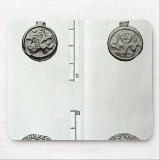 Top: Gaulish Coin of the Remes  obverse Mouse Pad