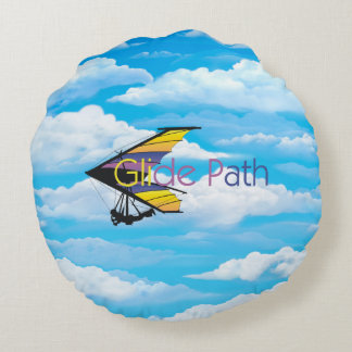 TOP Glide Path Round Pillow