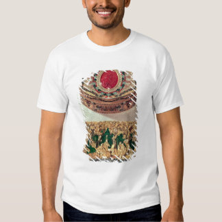 Top: Gold snuffbox inlaid with various stones Tee Shirt