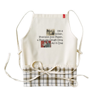 TOP Golf Diva All in One Zazzle HEART Apron