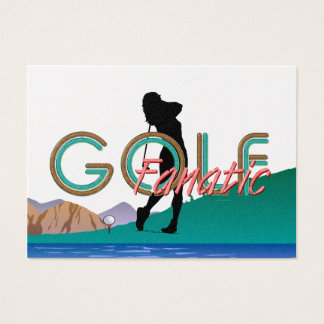 TOP Golf Fanatic Business Card