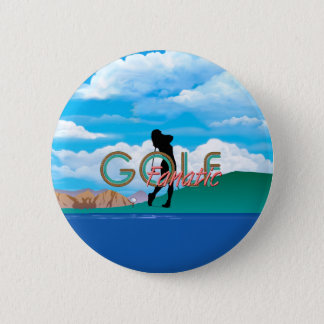 TOP Golf Fanatic Button