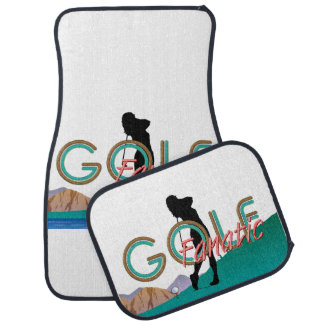 TOP Golf Fanatic Car Floor Mat