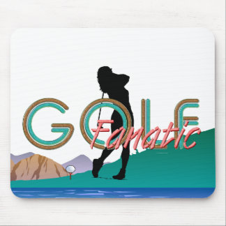 TOP Golf Fanatic Mouse Pad