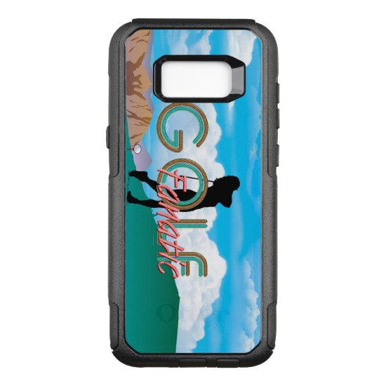 TOP Golf Fanatic OtterBox Commuter Samsung Galaxy S8+ Case