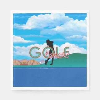 TOP Golf Fanatic Paper Napkin