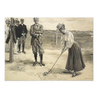 TOP Golf Girl Card
