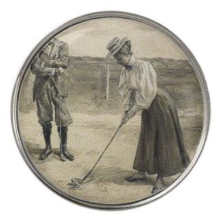 TOP Golf Girl Golf Ball Marker