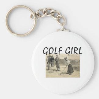 TOP Golf Girl Keychain