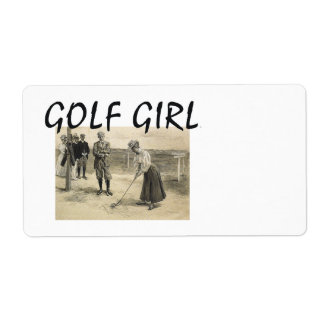 TOP Golf Girl Label