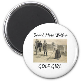 TOP Golf Girl Magnets
