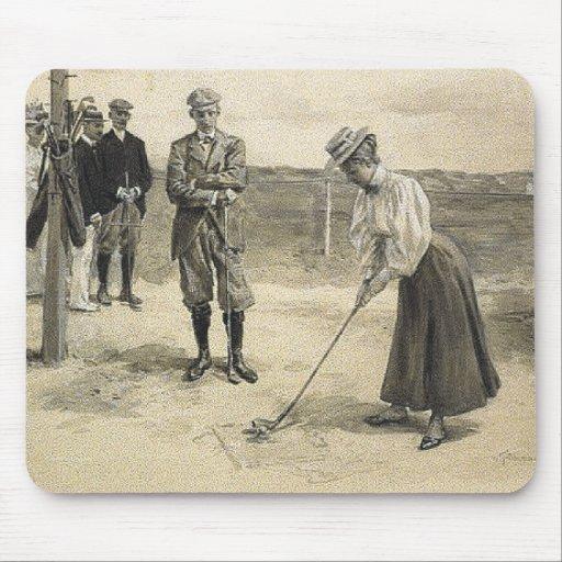 TOP Golf Girl Mousepads