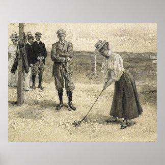 TOP Golf Girl Poster