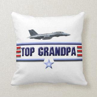 Top Grandpa Logo Pillow