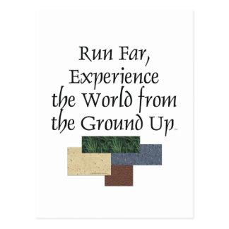 TOP Ground Up Postcard