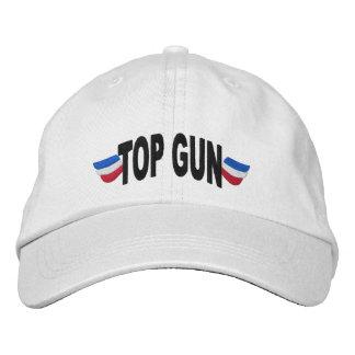 Top Gun bordó el gorra Gorros Bordados
