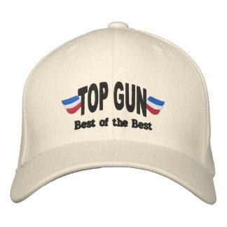 Top Gun bordó el gorra Gorra De Béisbol Bordada