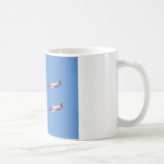 Top Gun in the air. Coffee Mug