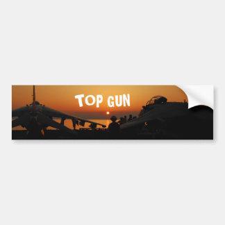 TOP GUN PEGATINA PARA AUTO