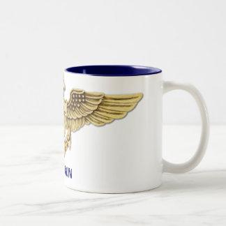 Top Gun Two-Tone Coffee Mug