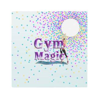 TOP Gym Magic Metal Photo Print