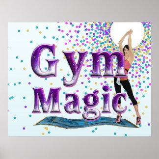 TOP Gym Magic Poster