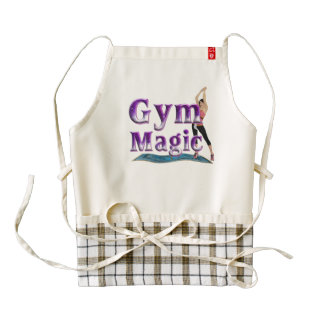 TOP Gym Magic Zazzle HEART Apron