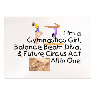 TOP Gymnastics All in One Large Business Cards (Pack Of 100)