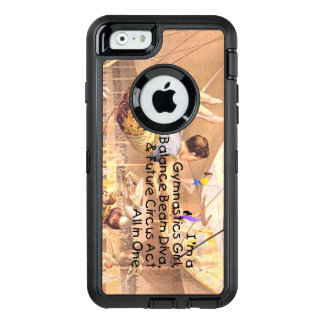 TOP Gymnastics All in One OtterBox Defender iPhone Case