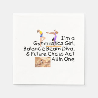 TOP Gymnastics All in One Paper Napkin