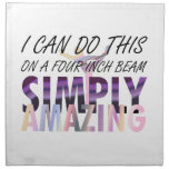 TOP Gymnastics Amazing Printed Napkins